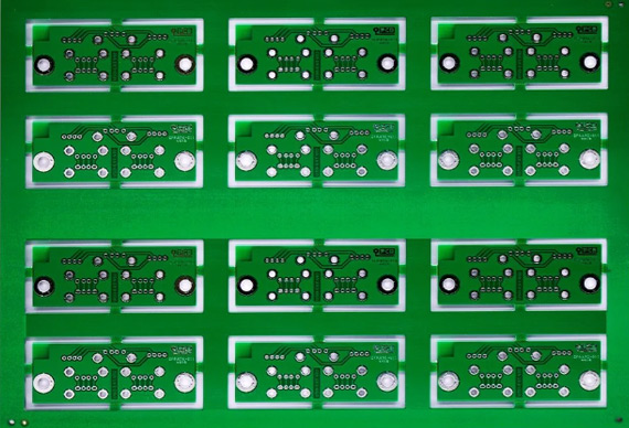 Two drill Holes in PCB: Blind Via and Buried Via